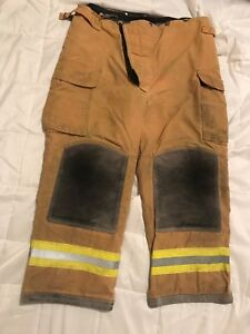 Lion Body Guard Firefighter Turnout Gear Bunker Turnout Pants W Liner 40 X 28