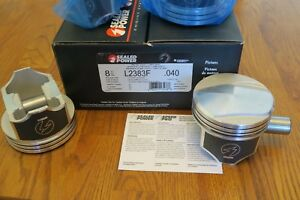 Big Block Chevy 402 Forged Piston Set Speed pro L2383f 40 new In Box 300 00