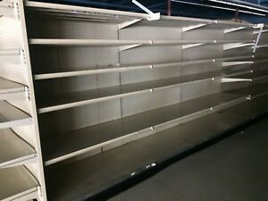 Used Gondola Shelving 4 Feet Wide