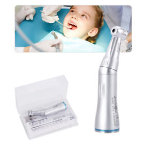 1pcs Nsk Style Dental Internal Water Spray Contra Angle Low Speed Handpiece Push