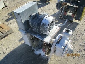 Giw Pump Iron With Motor And Base 1011853c used