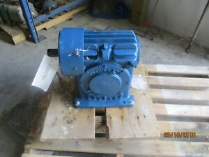 Cleveland Worm Gear Reducer Size 50fr Ratio 10 2 3 1 1011103c Used rebuilt