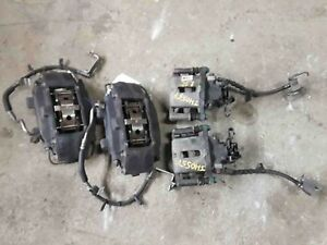 4 Piston Brembo Performance Pack Calipers Front Rear Set Ford Mustang Gt 11 14