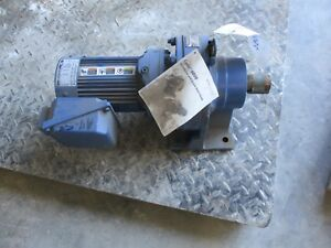 Sm cyclo Gear Reducer With Motor 10121005c used rebuilt