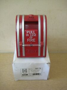 New Est Edwards Siga 270 Fire Alarm Manual Pull Station Free Shipping