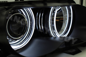 Bmw E46 Angel Eyes Crystal Led Kit 7000k White Light Lamp