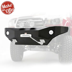 Body Armor 4x4 Tc 19336 Front Winch Bumper For 2012 2015 Toyota Tacoma Black