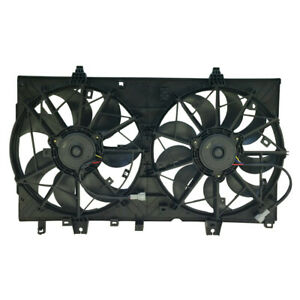For Nissan Rogue 14 18 Dual Radiator Ac Condenser Cooling Fan Assembly Ni3115150