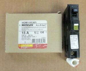 Lot Of 10 Square D Homeline Hom115cafi Arc fault 15a New In Box