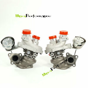 Twin Turbo For Ford Transit 150 250 350 Navigator F150 Expedition 0469 0470 3 5l