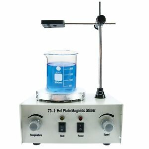 79 1 Magnetic Stirrer Hot Plate Mixer With Heating Plate Home Laboratory 110v