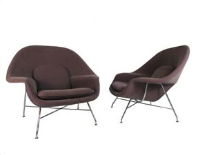 One Womb Chair By Eero Saarinen For Knoll