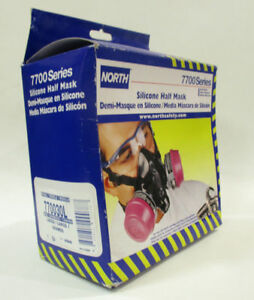 North Silicone Half Mask 7700 Series Part 770030l Free Shipping Sale