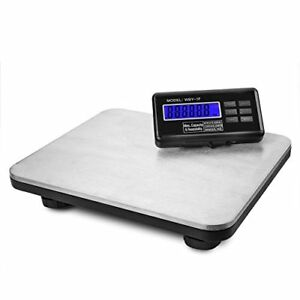 Flexzion Industrial Digital Shipping Postal Scales Max Weight 200kg 440lb W lcd