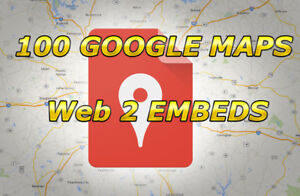 Embed Your Google Map In 200 Web 2 0 Sites