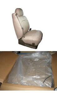 Honda Civic 4d Se Lx Ex 01 02 2001 2002 Leather Seat Covers Pewter 800 Msrp New