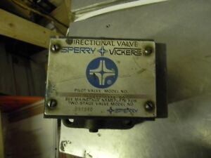 Used Vickers Hydraulic Directional Valve Dg4s2 012a 50