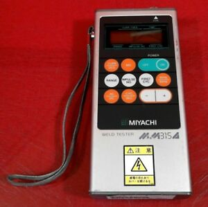Miyachi Mm 315a Handheld Weld Checker Portable Weld Tester 0347754
