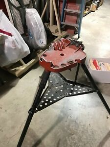 Reed Manufacturing R450 1 8 6 Chain Vise Tripod