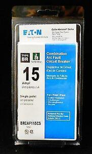 Lot Of 10 Cutler Hammer Brcaf115cs 15a Arc fault Afci Breaker New In Package