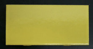 Vintage Franciscan Subway Tile Yellow