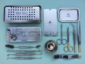 Dental Prf Box Grf System Platelet Rich Fibrin Set Implant Surgery Kit