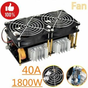40a Stable 1800w Induction Heating Board Module Flyback Driver Heater
