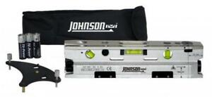 Johnson Level And Tool 40 6184 Three beam Magnetic Torpedo Laser