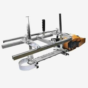 Carmyra Portable Chainsaw Mill 36 Inch Planking Milling Bar Size 14 To