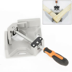 90 Degree Right Angle Corner Clamp Vice Wood Metal Welding Tool Woodworking Usa