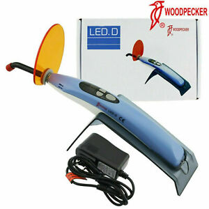 100 Woodpecker Dental Curing Light Wireless Led D Resin Cure Lamp 2300mw c