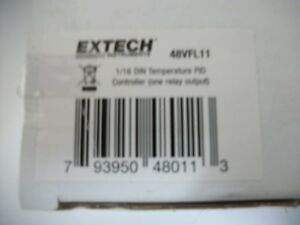 Extech 48vfl11 Temperature Pid Controller 1 16 Din One Relay Output Led