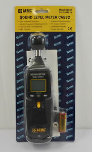 Aemc Ca832 Portable Sound Level Meter Up To 130db Brand New
