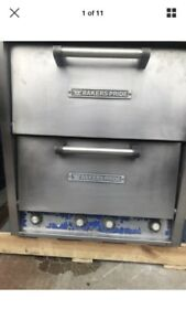 Bakers Pride P46 Counter Top Electric Combo Bake Roast pizza Oven Used