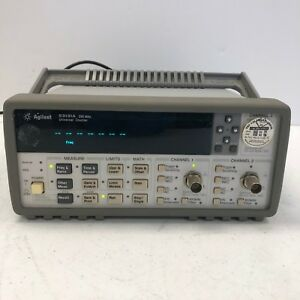Agilent Keysight 53131a Frequency Counter 225mhz Tested And Working Nice