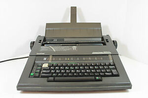 Brother Compactronic 300m Electronic Typewriter Machine Carrying Handle Office