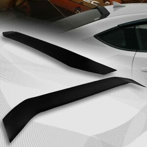 For 2013 2020 Scion Fr S Subaru Brz Smoke Acrylic Rear Window Roof Visor Spoiler
