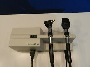 Welch Allyn Otoscope Ophthalmoscope Set With 767 Transformer And 2 Heads