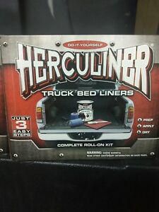 Herculiner Diy Truck Bed Liner Roll On Kit Hcl0b8