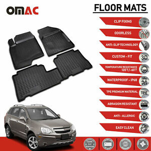 Chevrolet Captiva Sport Saturn Vue 2006 2015 Floor Mats Liner 3d Molded Fit Set