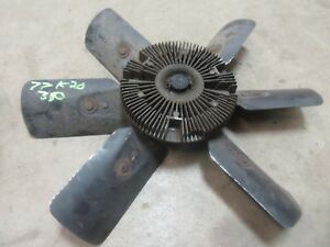 1977 1987 Chevrolet Gmc Truck Motor Engine Clutch Cooling Fan Blade Assembly