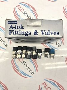 Parker A lok 4mtc4n 316 Thermocouple Connector Box Of 7