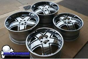 20 22 Nc Forged Chrome Wheels Rims 20x9 22x11 5 5x108 Ferrari Jaguar