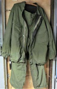 Vintage 1981 Military Chemical Protective Suit Size X large Pants