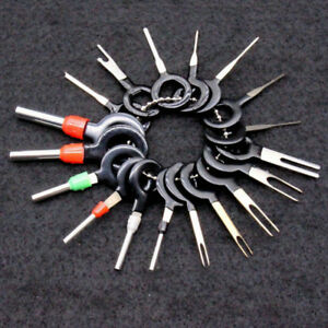 18x Connector Pin Extractor Terminal Removal Tool Car Electrical Harness Wiring