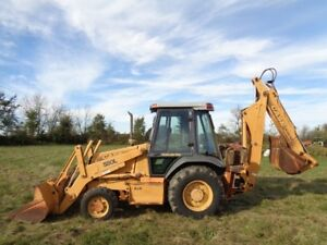 1998 Case 580l Loader backhoe 4wd E hoe 3 334 Hours