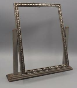 Antique 7 X 9 Hinged Wood Picture Frame