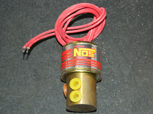 1 New Holley Nitrous Nos 16050 Cheater Fuel Solenoid 16050nos Nitrous Oxide