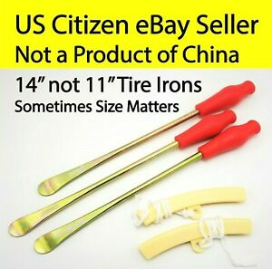 Motorcycle Tire Iron Tyre Set Spoon Lever 14 340mm 11 280mm Ktm 125 250 300 Xc
