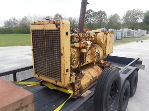 Caterpillar Diesel Generator Model D333 175kw